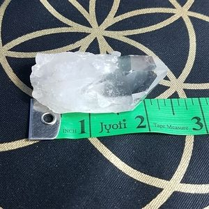 "Clear Quartz crystal 2.25"". Reiki Charged"